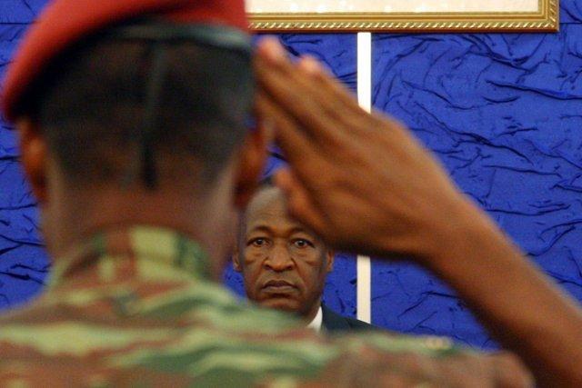 Blaise Compaoré: Président du Burkina Faso
