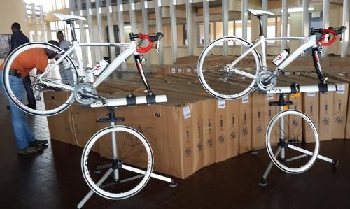 120 vélos école pour initier les gabonais au cyclisme