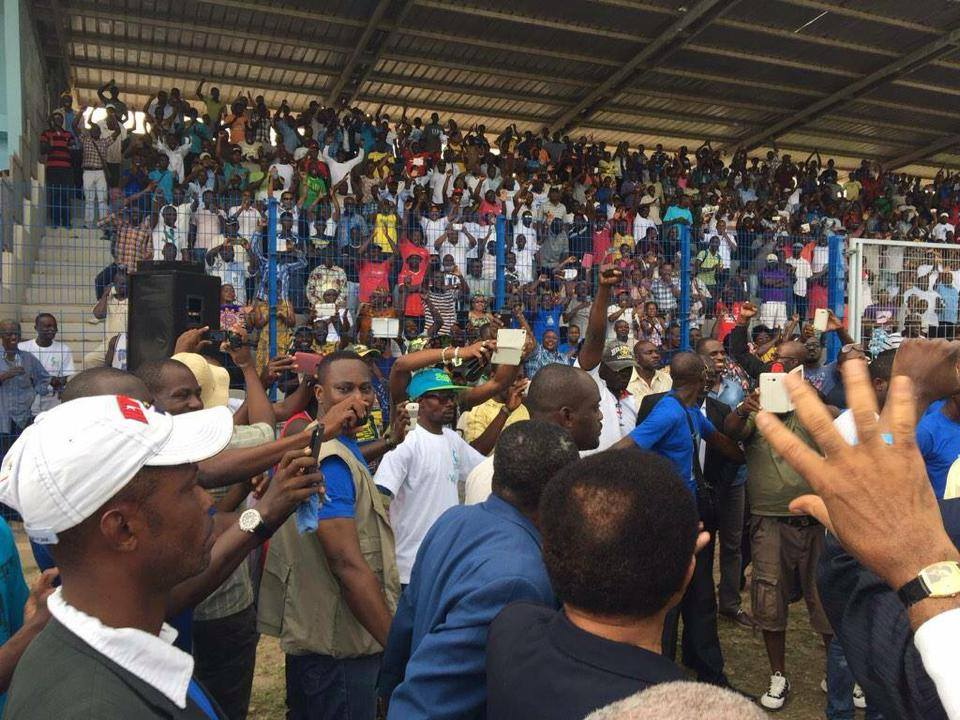 Meeting sans incidents du Front de l'opposition samedi à Port-Gentil