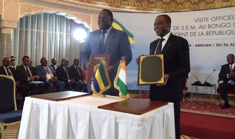 Plus de visa entre la Cote d'Ivoire et le Gabon pour les diplomates et fonctionnaires