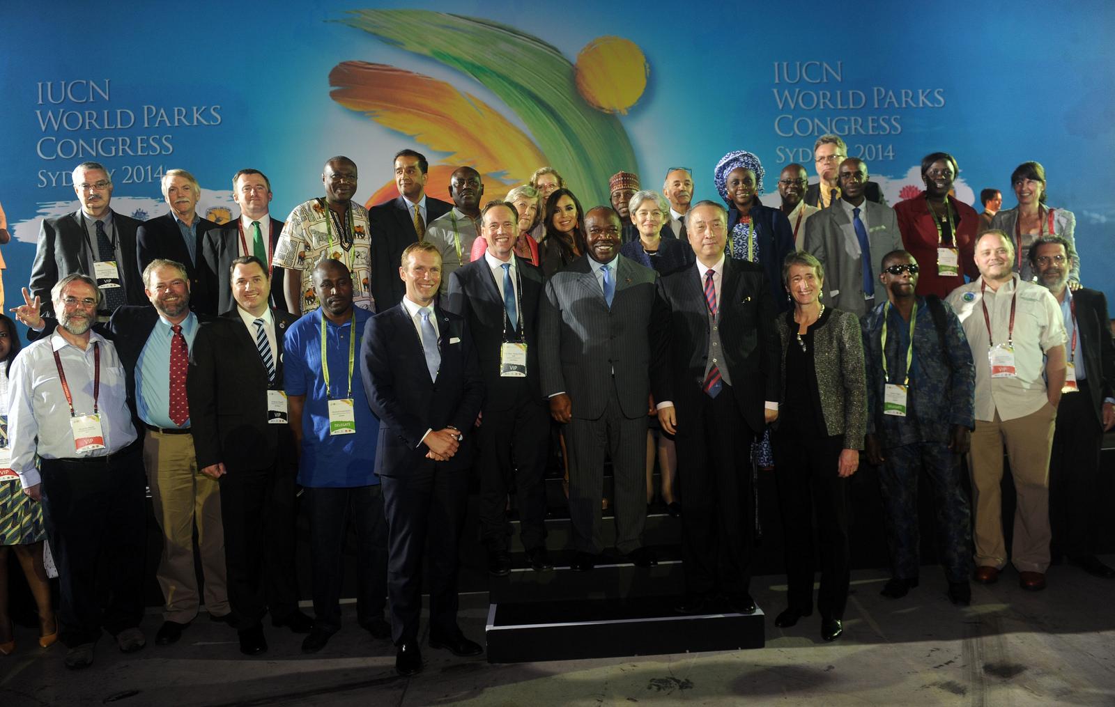 Ali Bongo nouveau parrain du sommet mondial des parcs après Nelson Mandela