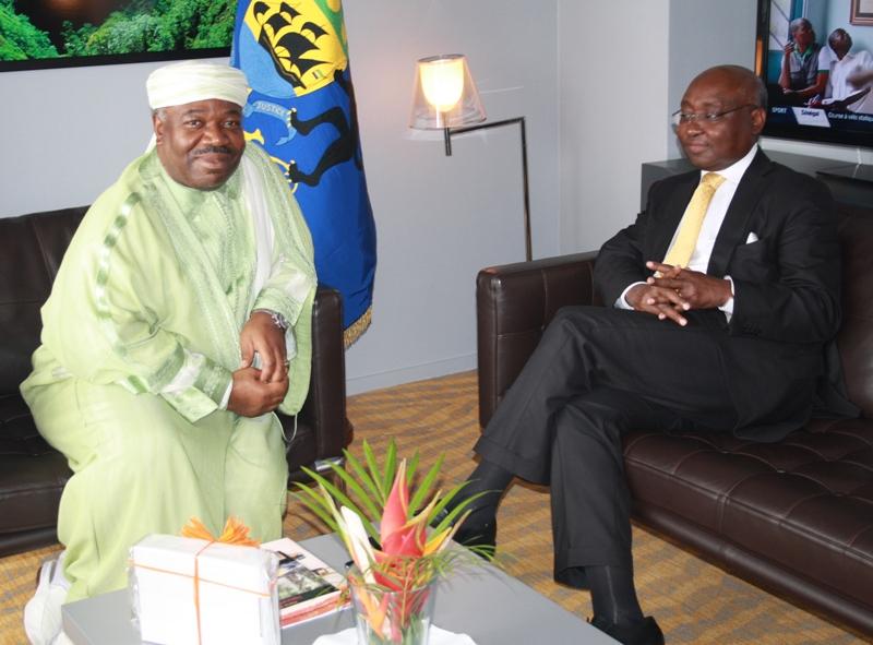 Le Gabon est sur la bonne voie, selon Donald Kaberuka