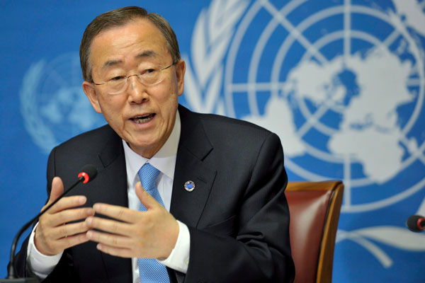 Ban Ki- moon félicite la diplomatie gabonaise