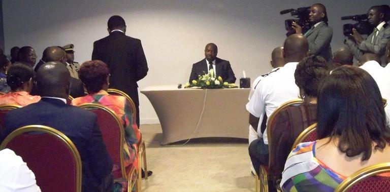 Ali Bongo Ondimba et la communauté gabonaise d'Abidjan  gabonactu.com