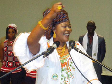 Les burkinabè veulent une femme pour diriger la transition