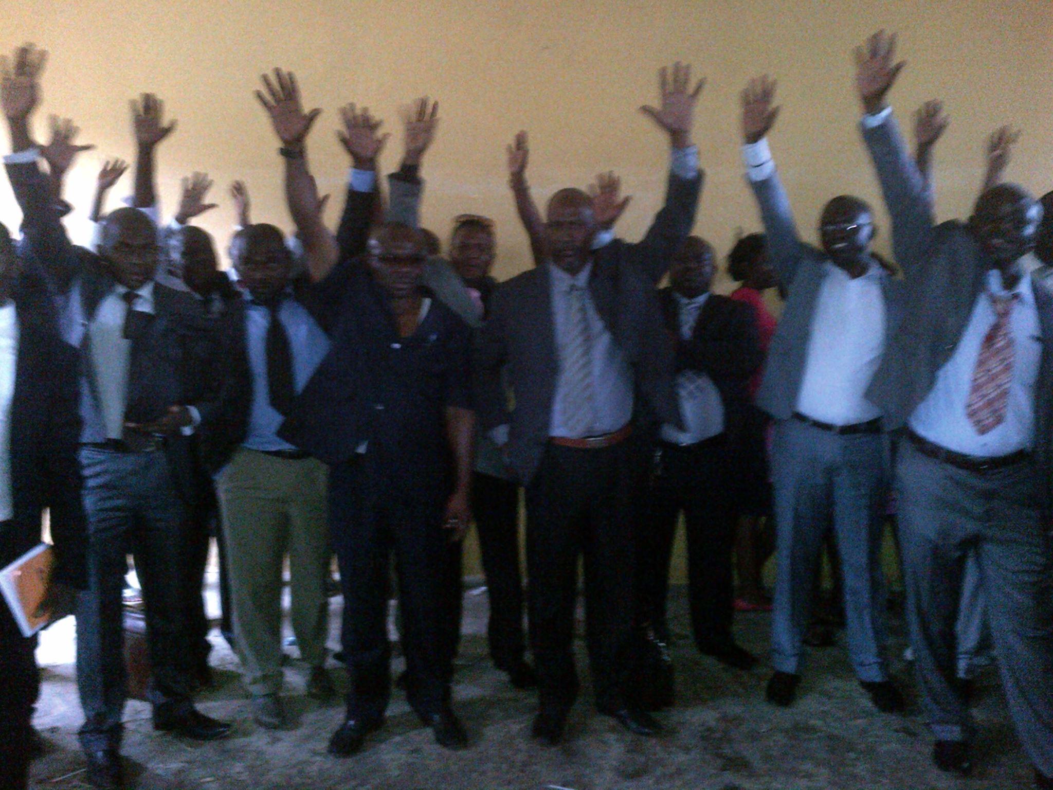 Les syndicalistes pas satisfaits de la rencontre avec Ali Bongo