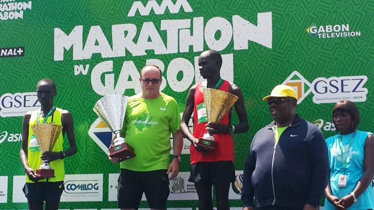 L'éthiopien Wosen Zeleké remporte avec peine le Marathon du Gabon 2014