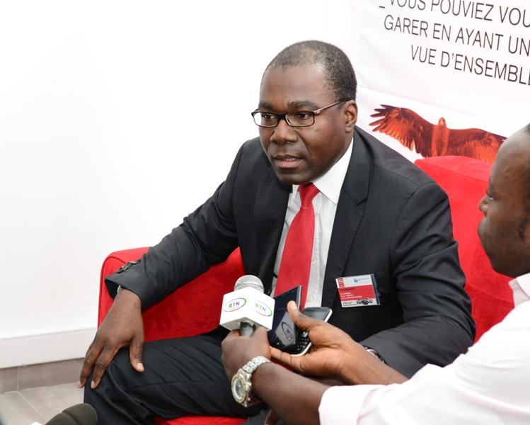 Therence Gnembou, DG de Tractafric Motors Gabon @ DR