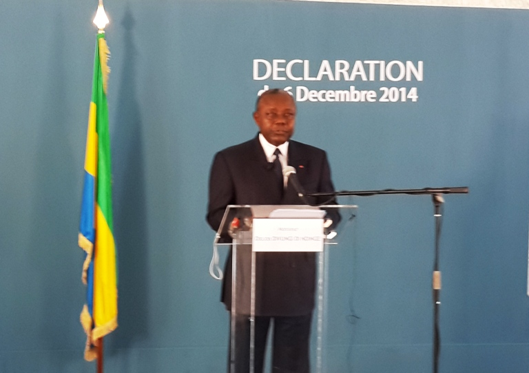 Didjob Divungui Di Ndinge rentre dans l'opposition