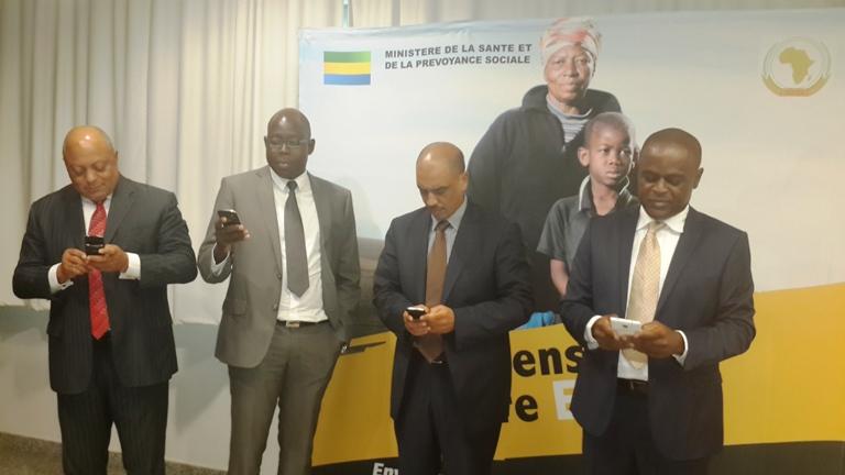 Le Gabon lance leprojet « Africa Against Ebola»