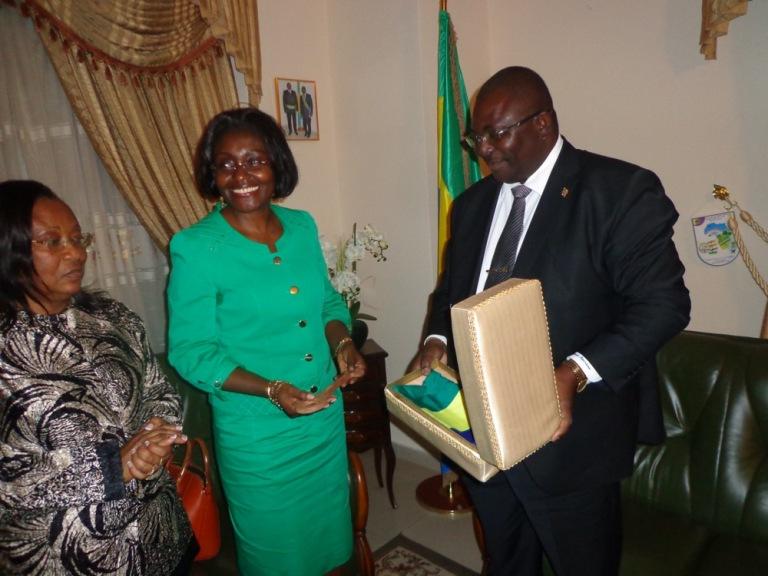 Les femmes parlementaires sonnent la mobilisation dans l'Ogooué Maritime