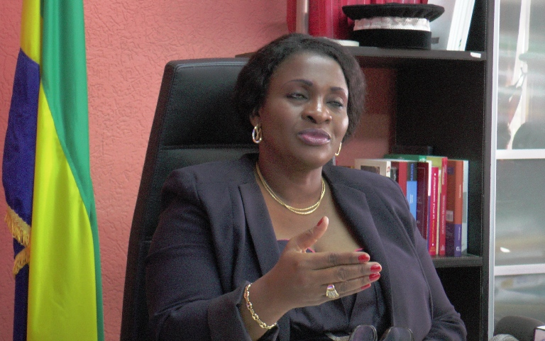 La loi protège la fonction Président de la République et la personne qui l'incarne : Sidonie Flore Ouwé@gabonactu.com
