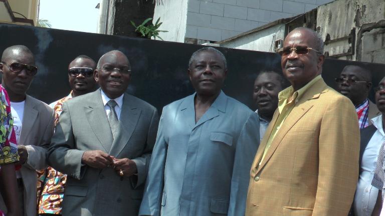 Des cadres du front de l'opposition  @ Gabonactu.com