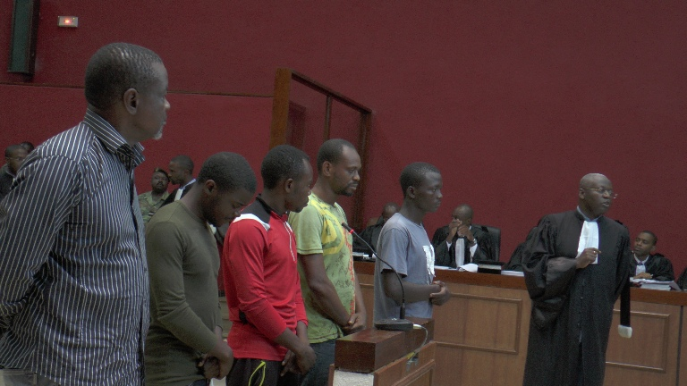 Meeting de Rio : tous les détenus non coupables