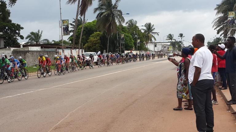 Les cyclistes en apporté la joie, la détente et la distraction à Port-Gentil @ gabonactu.com