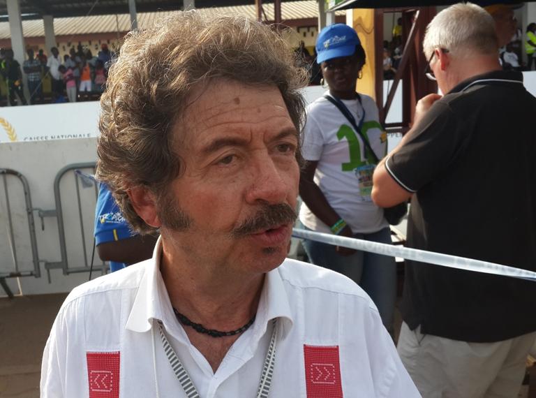 le tunisien Rafaa Chtioui probable vainqueur de la 10ème édition de la Tropicale Amissa Bongo (Jean Claude Herault)