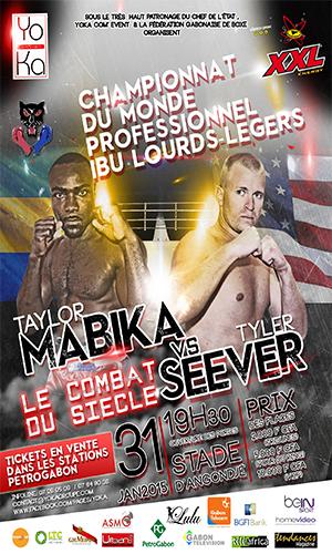 Taylor Mabika corrige par KO l'américain Tyler Seever