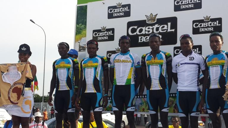 Les rwandais très combatifs sont déjà montés sur le podium @ gabonactu.com