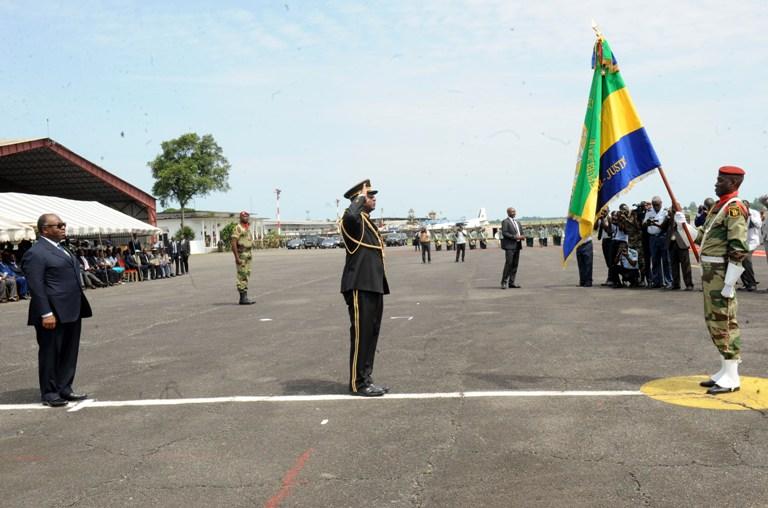 Le général Bibaye Itandas s'installe à l'état major général des FAG