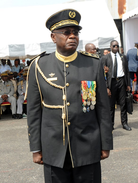 Le nouveau commandant des Forces armées gabonaises @ DCP