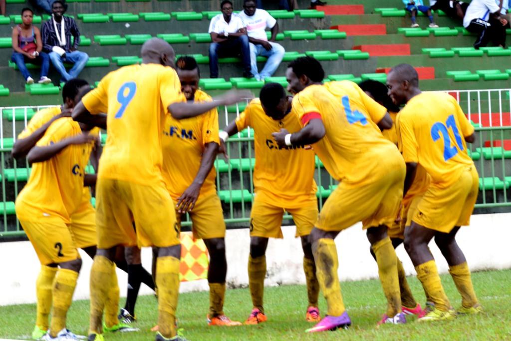 CF Mounana chicotePower Dynamo de Zambie (4-0), Mangasport battupar le stade Malien (1-3)