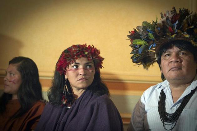 Amazonie: face à la déforestation, la lutte du chef Surui continue