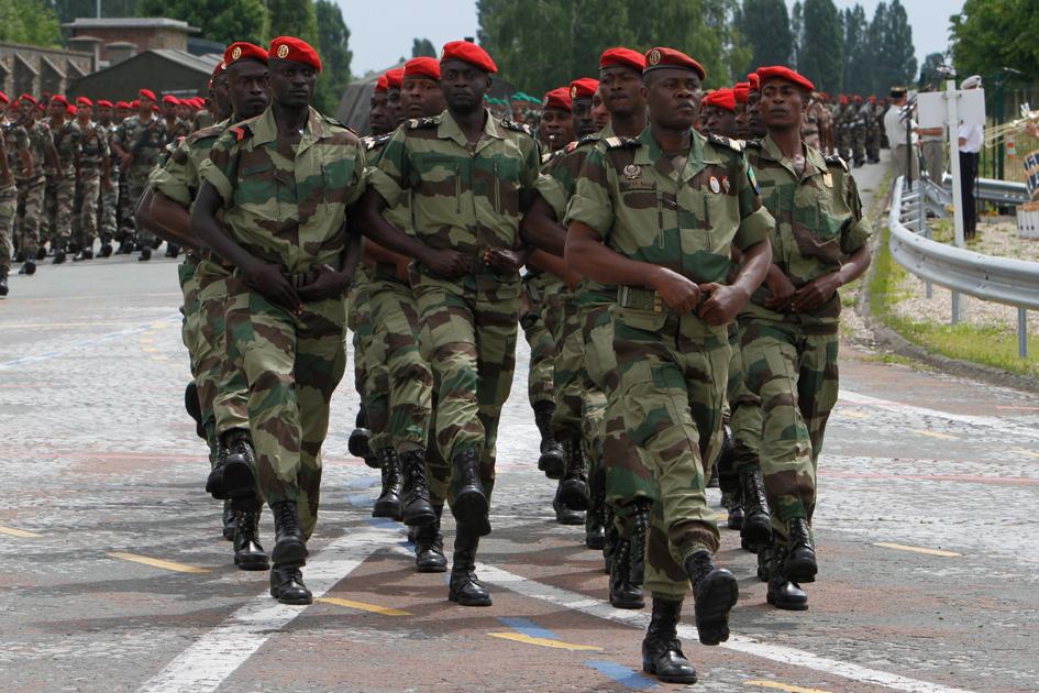 Le général Auguste Roger Bibaye Itandas, nouveau chef d'Etat-major général des forces armées gabonaises