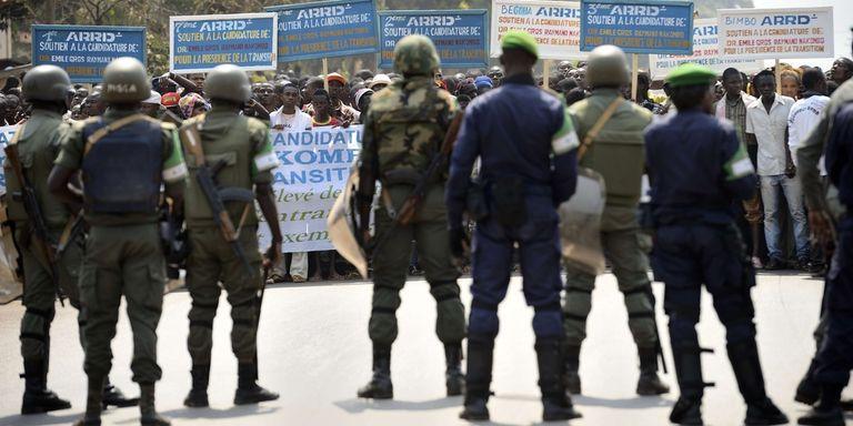 Une base de l'ONU attaquée par des manifestants en Centrafrique