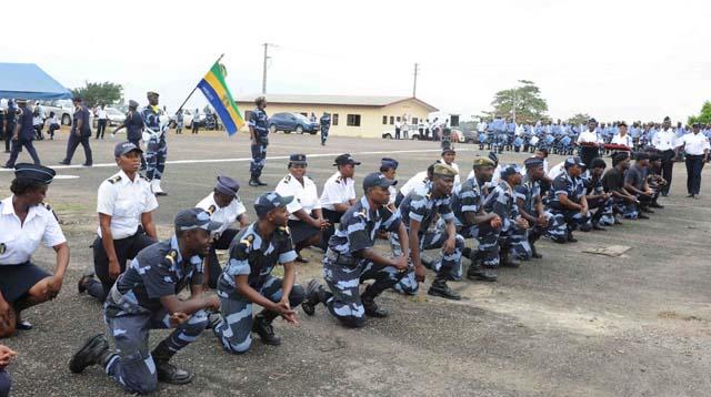 Jean Clotaire Oyé Nzue nouveau commandant de la police gabonaise