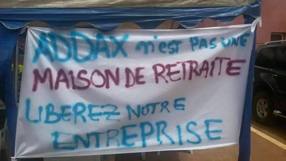 Addax en grève: zéro production, des milliards de FCFA de perte