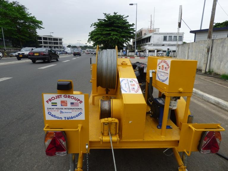 Malgré les gros moyens déployés, la réparation a duré près de 4 jours @ gabonactu.com
