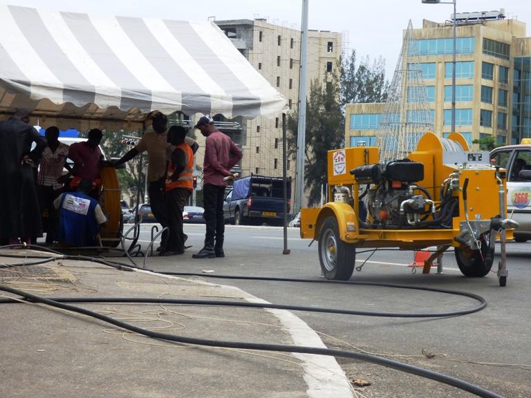 un autre chantier en face du ministère des affaires étrangères @ gabonactu.com