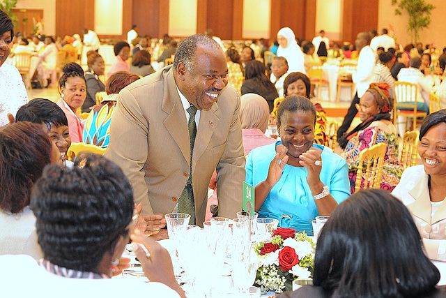 Le déjeuner de 250 couverts en l'honneur de la gabonaise a eu lieu jeudi