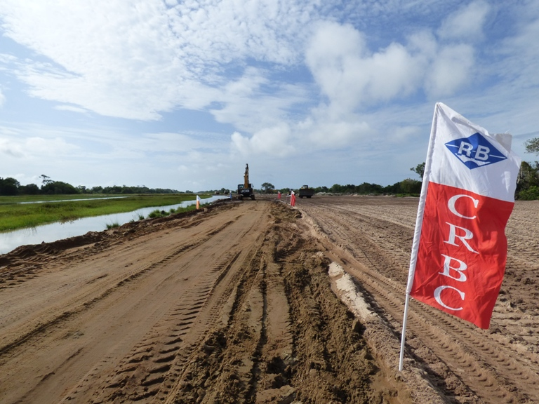 La China road and bridge corporation (CRBC) est à l'oeuvre @ gabonactu.com