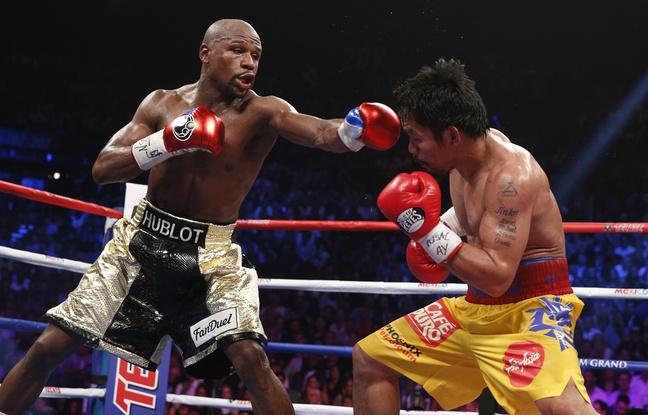Boxe : Floyd Mayweather remporte le « combat du siècle »