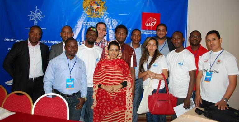 Les jeunes upegistes désormais membres de la mission internationale d'observation des élections du mouvement des jeunes socialistes