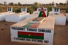 Burkina Faso:les restes mortels de Thomas Sankara  exhumés ce lundi 25 Mai