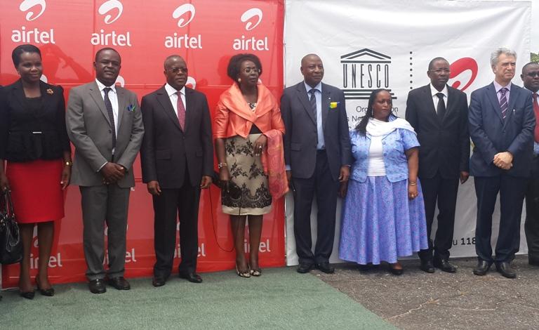 L'UNESCO et Airtel lancent le Projet «Former Ma Génération-Gabon 5000»