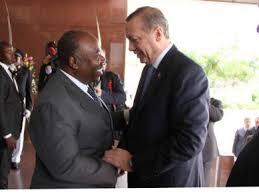 Ali Bongo en visite officielle en Turquie