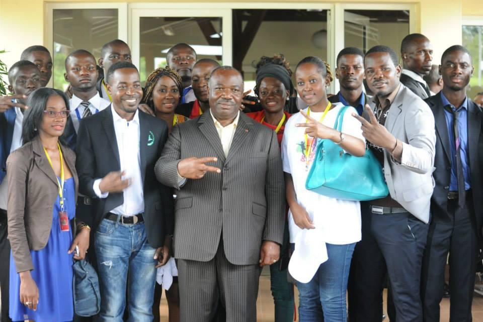 Ali Bongo fustige l'instrumentalisation des jeunes