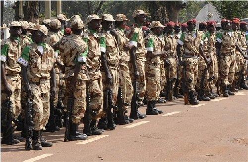 MINUSCA: Deux militaires gabonais retenus à Bangui pour des fautes graves