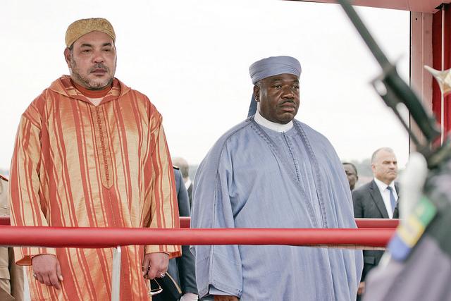 Gabon : Ali Bongo et le roi Mohammed VI lancent les travaux d'un centre de formation professionnel