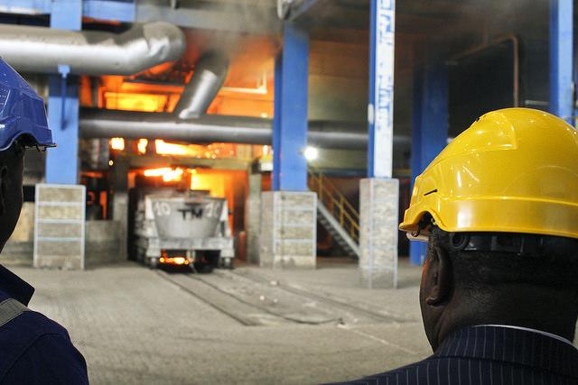 Les fours des usines de manganèse de Moanda désormais en marche