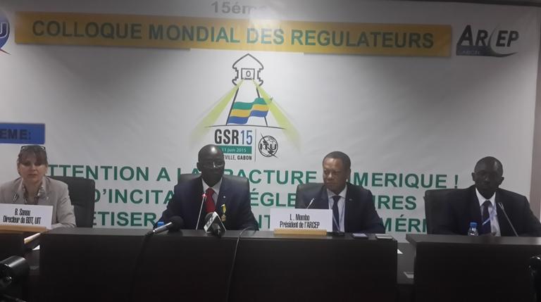 15ème Colloque Mondial des Régulateurs  à Libreville pour booster les TIC  en Afrique