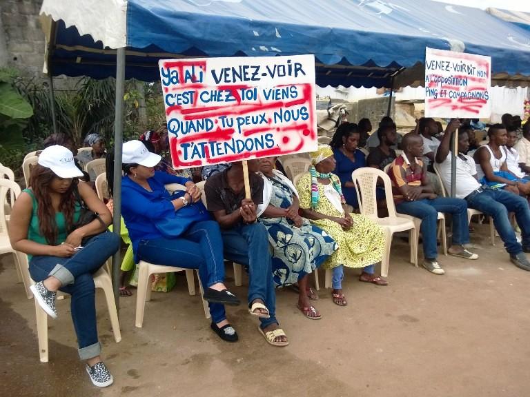 Causerie de séduction pour Ali Bongo à Venez-Voir