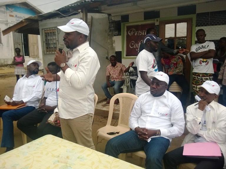 Les cadres du CRAC face au coeur de Venez voir @ Gabonactu.com