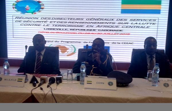 Les patrons de renseignements de la CEEAC en conclave à Libreville contre le terrorisme