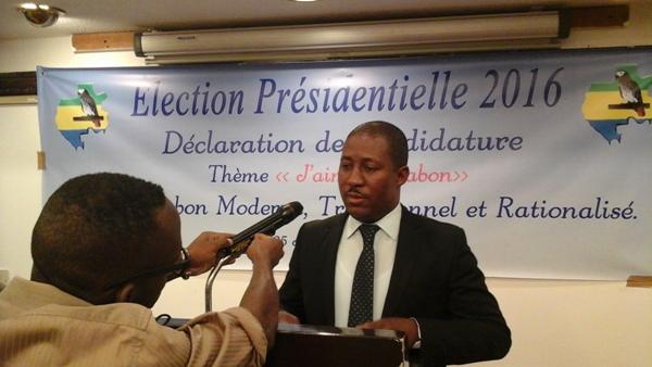 Mbombe Nzondou candidat à la présidentielle de 2016