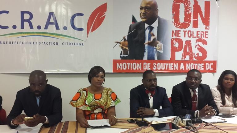 Le CRAC dit non à la démission de Maixent Accrombessi