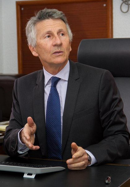 Thierry Normand citoyen français nommé DG d'Addax Petroleum
